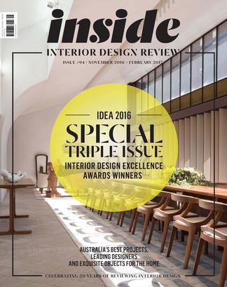 (inside) Interior Design Review Magazine 12 Month Subscription