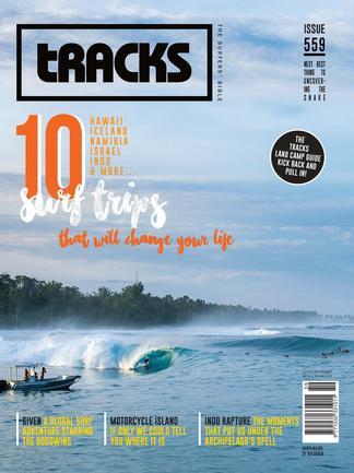 tracks magazine 12 month subscription got gifts