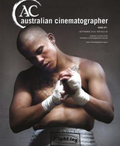 Australian Cinematographer Magazine 12 Month Subscription