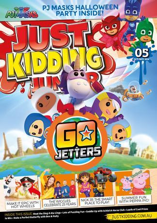 Just Kidding Junior Magazine 12 Month Subscription