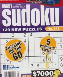 Lovatts Handy Sudoku Magazine 12 Month Subscription