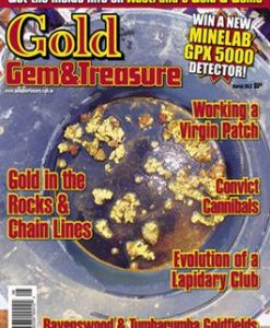 Australian Gold Gem & Treasure Magazine 12 Month Subscription
