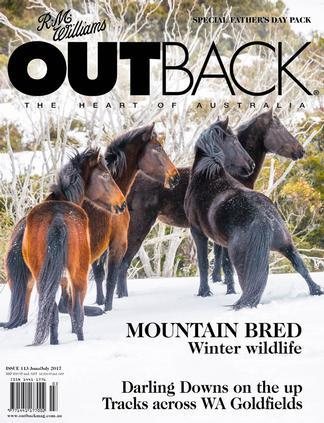 R.M. Williams OUTBACK Magazine 12 Month Subscription