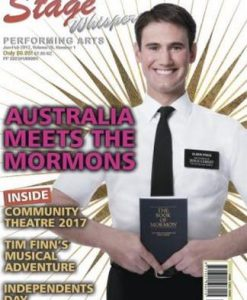 Stage Whispers Performing Arts Magazine 12 Month Subscription