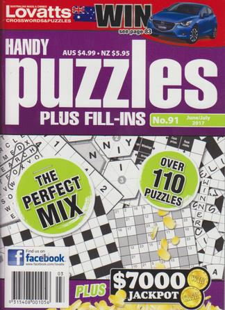 Lovatts Handy Puzzles Magazine 12 Month Subscription