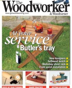 The Woodworker (UK) Magazine 12 Month Subscription