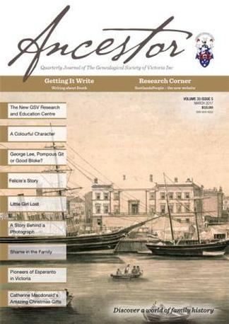 Ancestor Magazine 12 Month Subscription