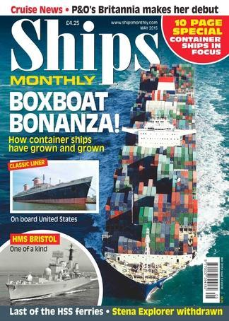 Ships Monthly (UK) Magazine 12 Month Subscription