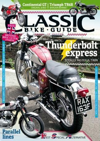 Classic Bike Guide (UK) Magazine 12 Month Subscription
