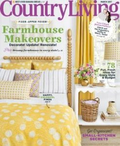 Country Living USA Magazine 12 Month Subscription