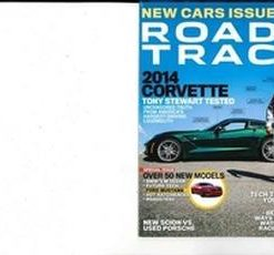 Road & Track Magazine 12 Month Subscription
