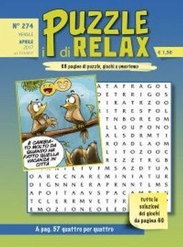 I Puzzle Di Relax Magazine 12 Month Subscription
