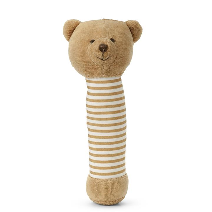 Brown Teddy Hand Rattle - Add Something Extra