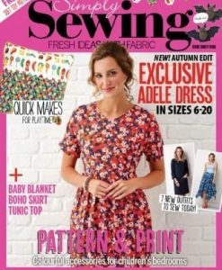 Simply Sewing (UK) Magazine 12 Month Subscription