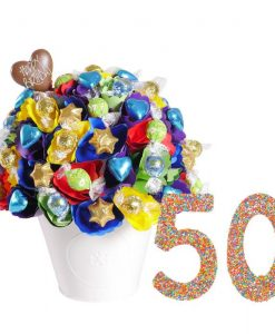 50 Large Birthday Chocolate Bouquet