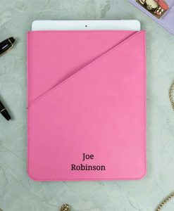 Personalised Name Pink Tablet Case