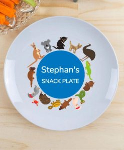 Animal Fun Personalised Plate