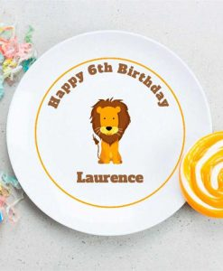 Lion King Personalised Plate