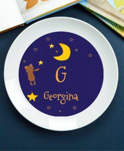 Bed Time Story Personalised Plate