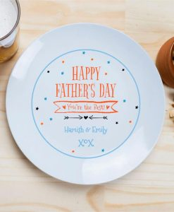 The Best Father's Day Custom Plate
