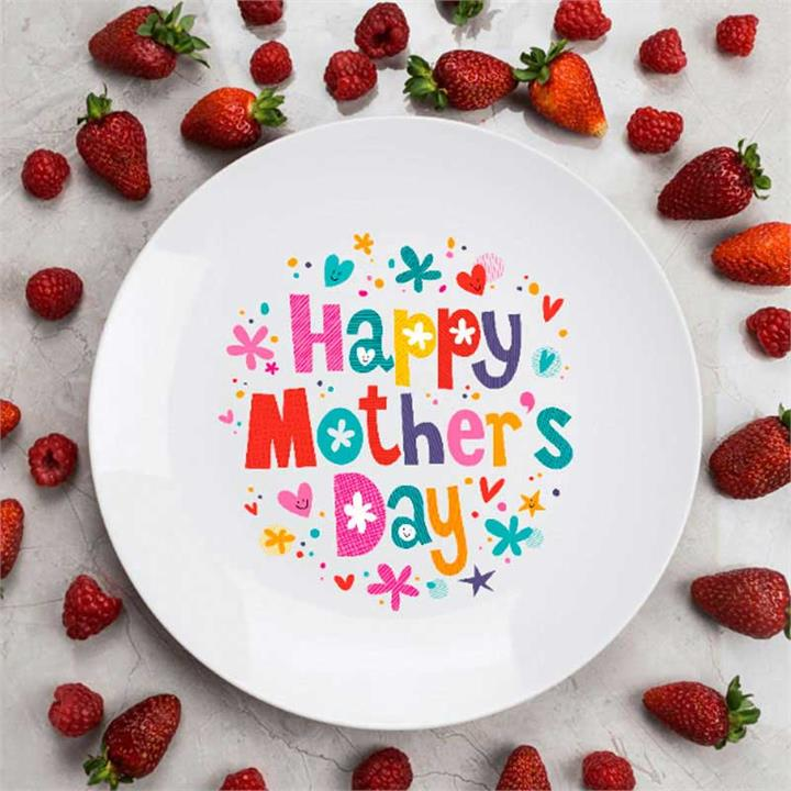 Mother's Day Ceramic Plate