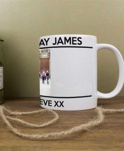 Personalised Message Photo Mug