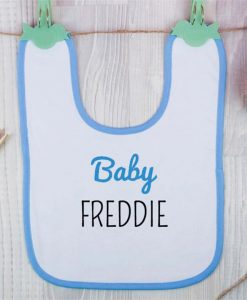 Baby Boy Personalised Bib