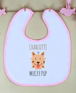 The Mucky Pup Personalised Bib