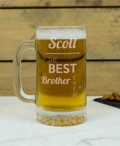 The Best Ever Personalised Glass Tankard