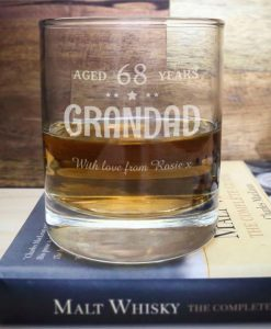 The Aged Whisky Glass