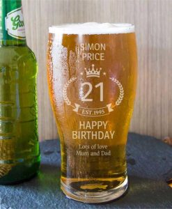 A Personalised Birthday Beer