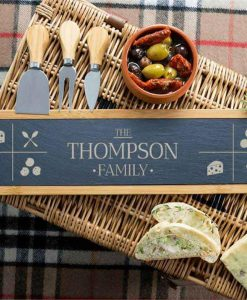 The Personalised Family Serving Board