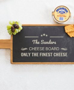 The Personalised Cheese Serving Board