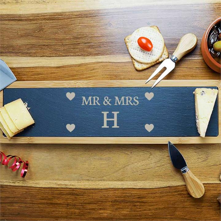 Hearts Combined Serving Board