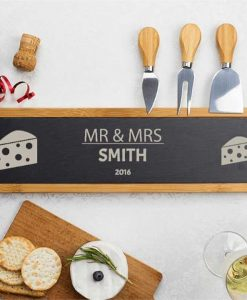 Couple Cheese Serving Board