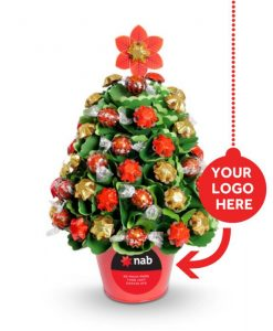 Personalised Corporate Christmas Large Traditional Tree