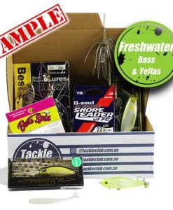 Tackle Club Bass & Yellowbelly Fishing Box Magazine 12 Month Subscription
