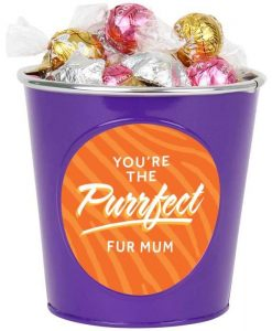 'You're Purrfect' Choc Bucket