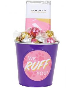 'We Ruff You' Choc Block Bucket