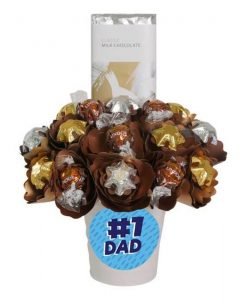 #1 Dad Classic Choc Block Bouquet