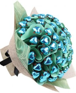 Aqua Love Sixty Chocolate Bouquet