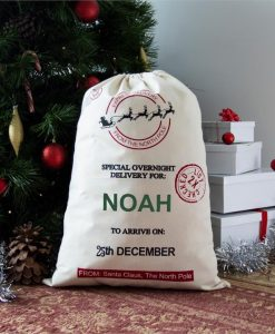 Special Delivery Personalised Christmas Sack