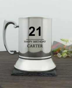 Personalised Birthday Traditional Tankard