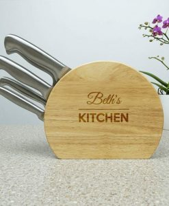 Their Personalised 5pc Stainless Knife Set
