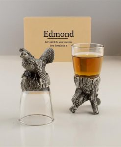 Grouse Personalised Shot Glasses