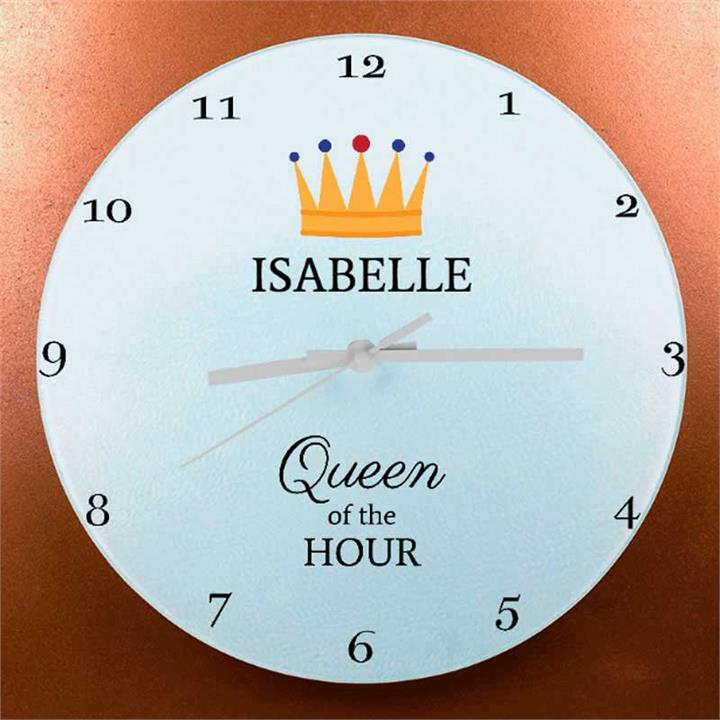 The Queen's Personalised Wall Clock