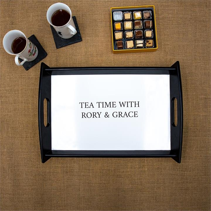 Any Message Serving Tray