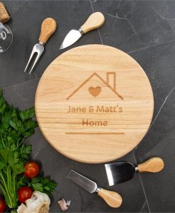 Homely Personalised Cheese Board Set