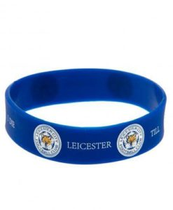 Leicester City F.C. Silicone Wristband