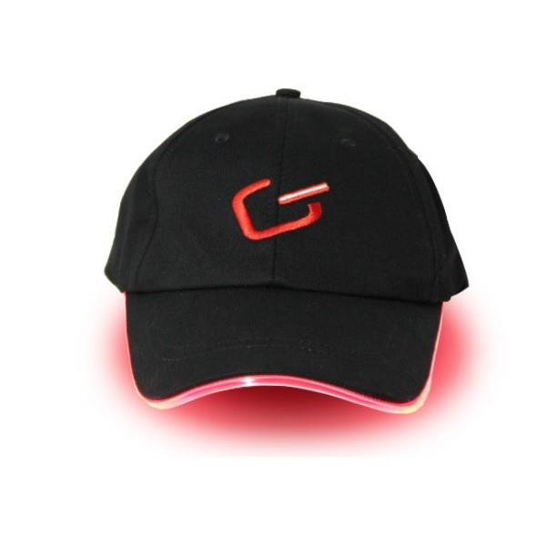 Glimmer Gear LED High Visibility Hat - Black/Red